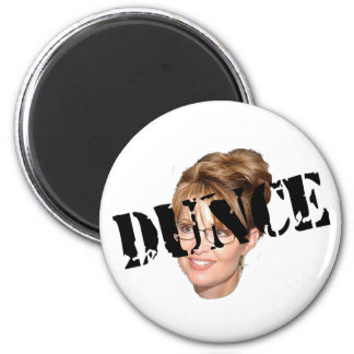 Anti-Palin Dunce Refrigerator Magnet