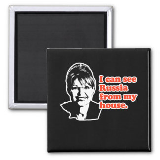 ANTI-PALIN / I can see Russia from my house Magnet