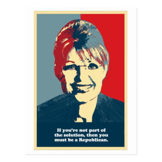 Anti-Palin -   si usted no es la parte de la soluc Tarjetas Postales