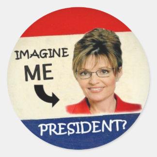 Anti-Palin Stickers