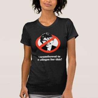 Anti-Palin -   transferí a cinco universidades par Camisetas
