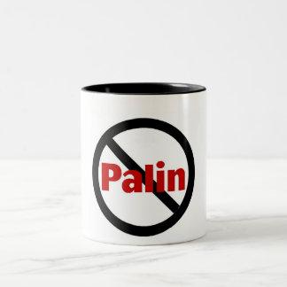 Anti Palin Two-Tone Coffee Mug