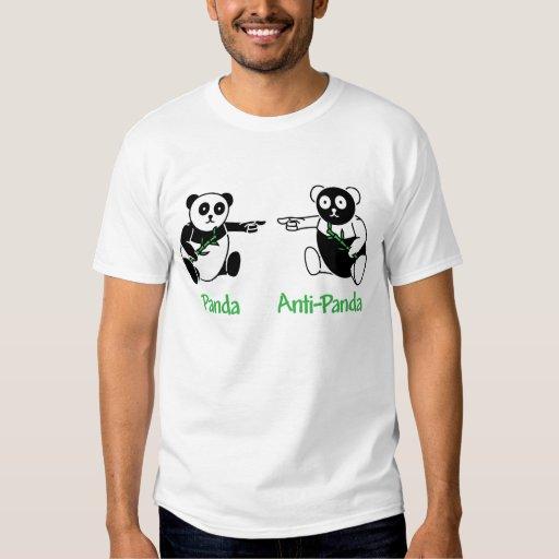Anti-Panda de la panda Playeras