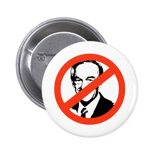 ANTI-PAUL: Anti-Ron Paul Pinback Button