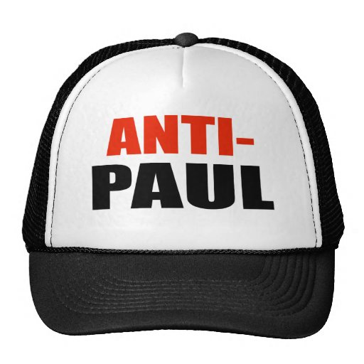ANTI-PAUL GORRO