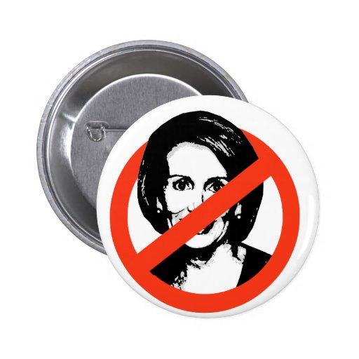 Anti-Pelosi / Anti-Nancy Pelosi 2 Inch Round Button