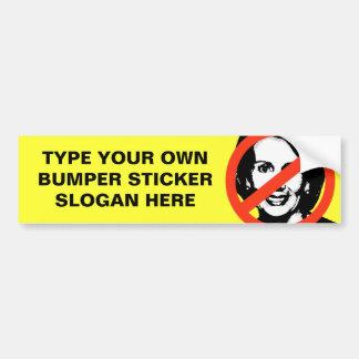ANTI-PELOSI: ANTI-Nancy Pelosi Bumper Sticker