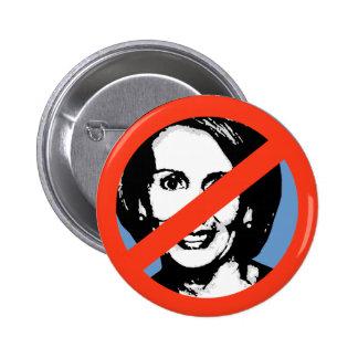 ANTI-PELOSI: ANTI-Nancy Pelosi Pinback Buttons