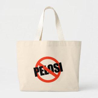 Anti-Pelosi / Anti-Nancy Pelosi Large Tote Bag