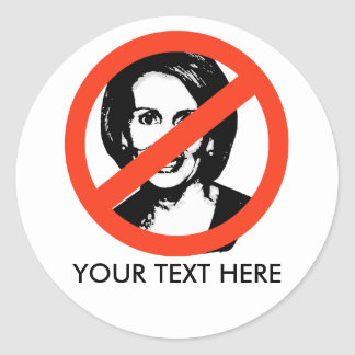ANTI-PELOSI: ANTI-Nancy Pelosi Stickers