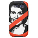 ANTI-PELOSI GALAXY S3 FUNDA