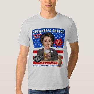 Anti-Pelosi Speaker's Choice Ale Tee Shirt