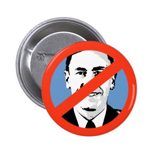 Anti-Petraeus Pinback Button