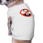 Anti-Petraeus Doggie Tshirt