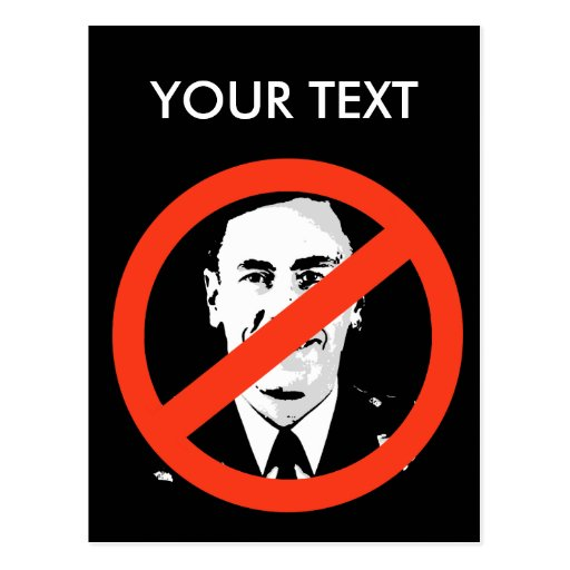 Anti-Petraeus Post Cards