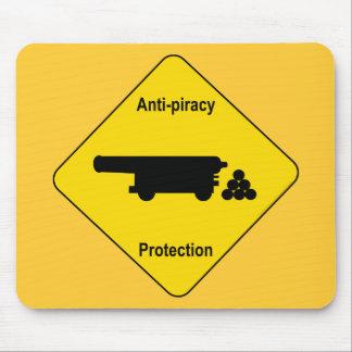 Anti-piracy Mouse Pad