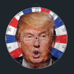 "Anti President Donald Trump - Big Mouth Dartboard With Darts<br><div class=""desc"">Demonstrate your contempt for Donald Trump and the frightening future of a Donald Trump presidency with this Trump in his face big mouth dartboard.</div>"