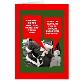 Anti President Obama Christmas Card
