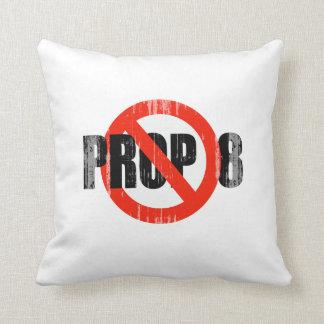 ANTI PROP 8 1 Faded.png Throw Pillow