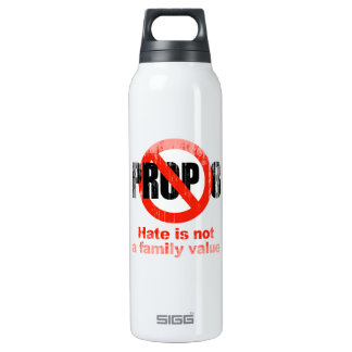 ANTI PROP 8 - Hate is not a family value Faded.png SIGG Thermo 0.5L Insulated Bottle