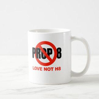 ANTI PROP 8 - Love not H8 Coffee Mugs