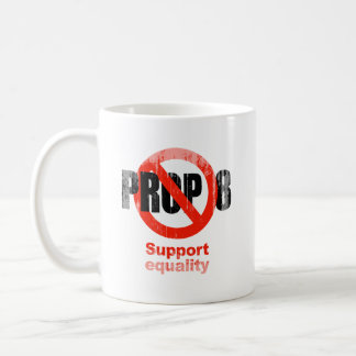 ANTI PROP 8 - Support Equality Faded.png Mugs