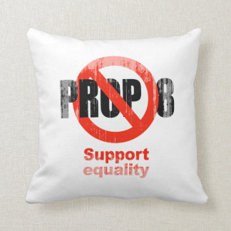 ANTI PROP 8 - Support Equality Faded.png Pillow