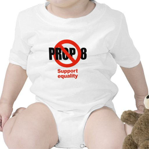 ANTI PROP 8 - Support Equality T-shirts