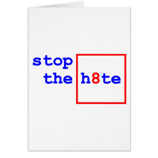 Anti-Proposition 8: stop the h8te Card