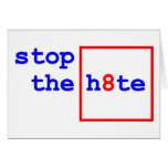 Anti-Proposition 8: stop the h8te Cards