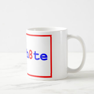 Anti-Proposition 8: stop the h8te Classic White Coffee Mug