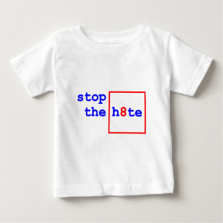 Anti-Proposition 8: stop the h8te Shirts