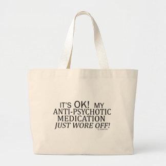 Anti-Psychotic Medication Jumbo Tote Bag