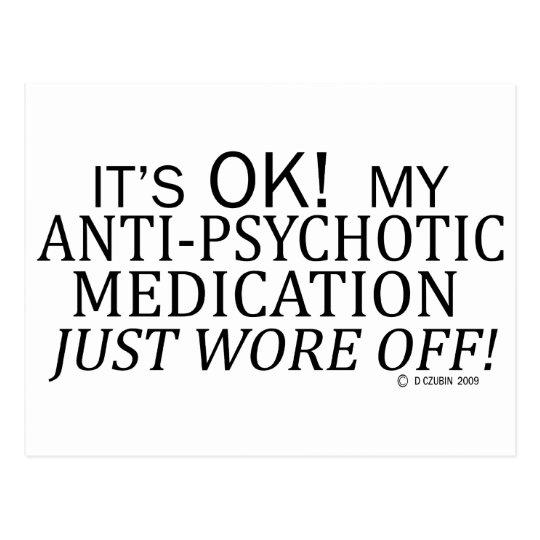 Anti-Psychotic Medication Postcard