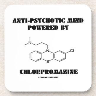 Anti-Psychotic Mind Powered By Chlorpromazine Beverage Coaster