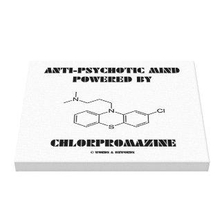 Anti-Psychotic Mind Powered By Chlorpromazine Canvas Print