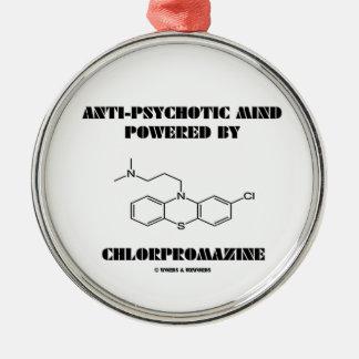 Anti-Psychotic Mind Powered By Chlorpromazine Metal Ornament