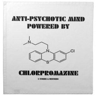 Anti-Psychotic Mind Powered By Chlorpromazine Napkin