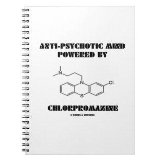 Anti-Psychotic Mind Powered By Chlorpromazine Notebook