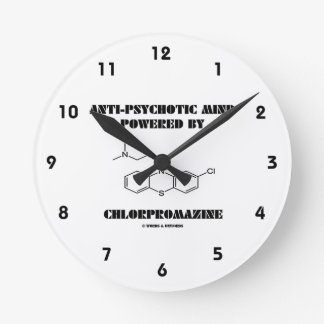 Anti-Psychotic Mind Powered By Chlorpromazine Round Clock