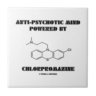 Anti-Psychotic Mind Powered By Chlorpromazine Tile