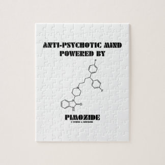 Anti-Psychotic Mind Powered By Pimozide (Molecule) Puzzle