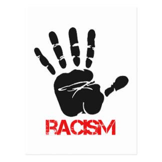 Anti-racism designs postcard
