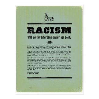 Anti-Racism Postcard