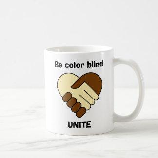 Anti racism theme coffee mug