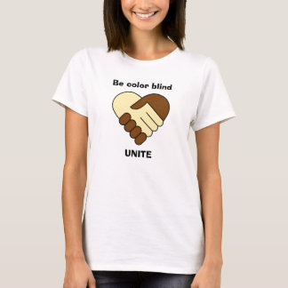 Anti racism theme shirt for woman