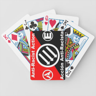 anti-racist action 2 playing cards