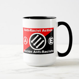 anti-racist action mug