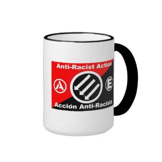 anti-racist action mug