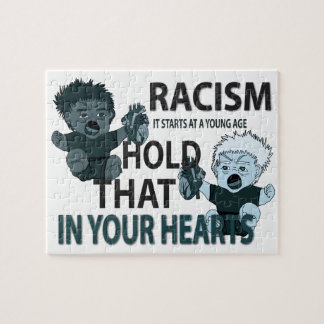 ANTI-RACIST GRAPHIC JIGSAW PUZZLES